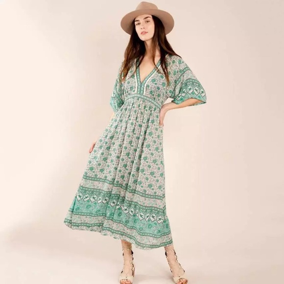 Spell & The Gypsy Collective Dresses | Spell Kombi Folk Gown Color ...
